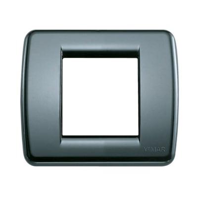Placca VIMAR Idea 2 moduli grigio grafite