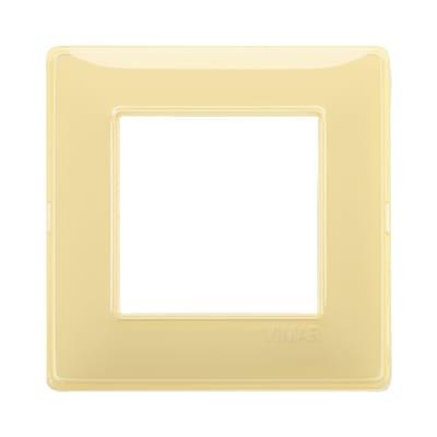 Placca VIMAR Plana 2 moduli reflex cedro