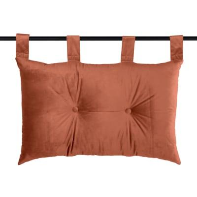 Cuscino Testata letto Danae terracotta 70x45 cm