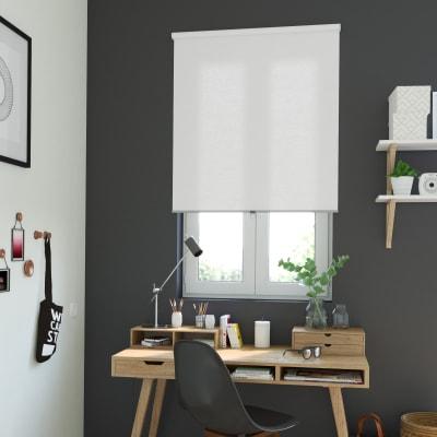 Tenda a rullo INSPIRE Delhi cordless oscurante bianco 100x195 cm