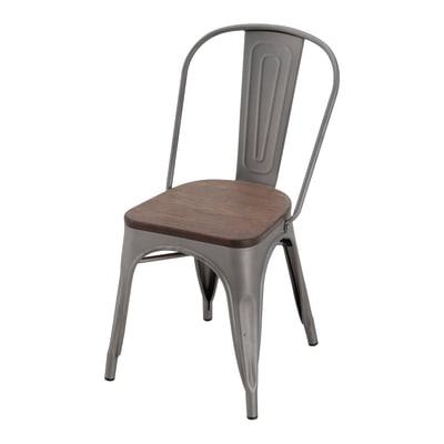 Sedia in acciaio Soho colore antracite prezzi e offerte