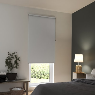Tenda a rullo INSPIRE Tokyo oscurante bianco 120x250 cm
