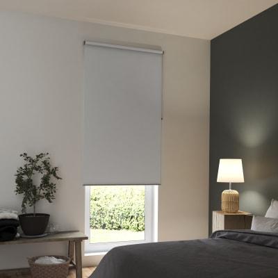 Tenda a rullo INSPIRE Tokyo oscurante bianco 90x250 cm