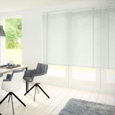 Veneziana Top in pvc, bianco, 40x155 cm