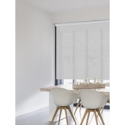Tenda a rullo Lino Chine bianco 150x250 cm