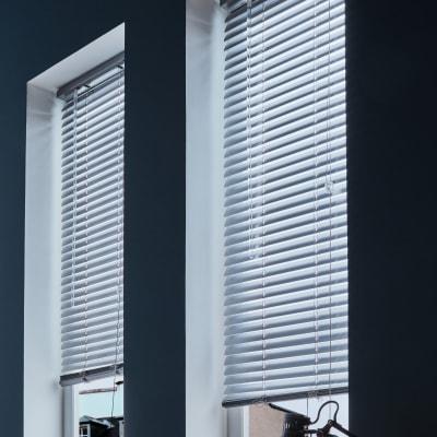 Veneziana New York in alluminio, cromo, 90x175 cm