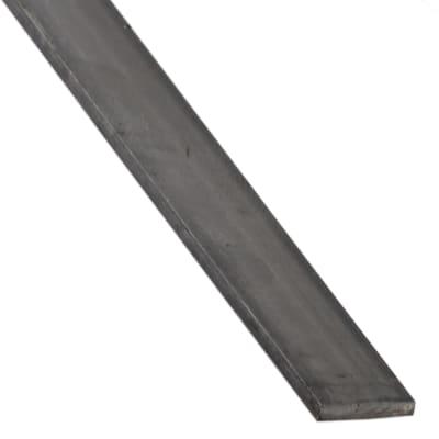 Profilo piatto STANDERS in ferro 2 m x 3 cm nero