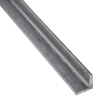 Profilo angolare simmetrico STANDERS in ferro 2 m x 3.1 cm grigio