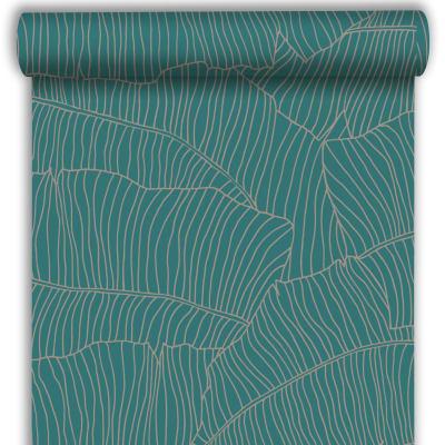 Carta da parati Banano verde, 53 cm x 10.05 m