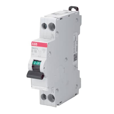 Interruttore magnetotermico ABB SN201 L-C20 1P +N 20A 4.5kA 1 modulo 230V