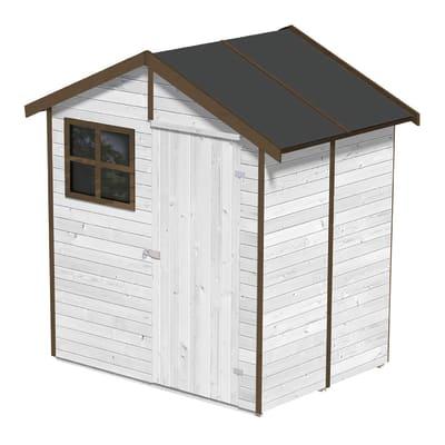 Casetta da giardino in legno Portofino,  superficie interna 2.34 m² e spessore parete 14 mm