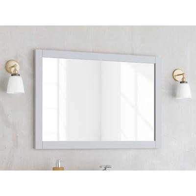 Specchio con cornice bagno rettangolare Charm L 80 x H 60 cm SENSEA