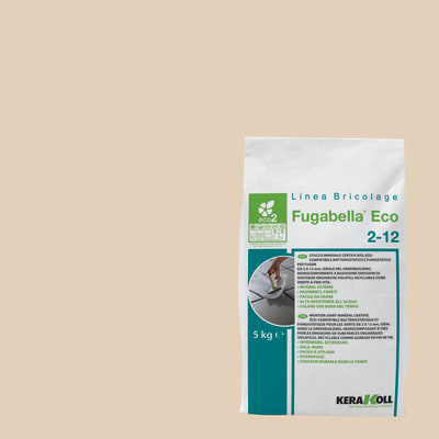Stucco in polvere Fugabella Eco 2-12 KERAKOLL 5 kg beige