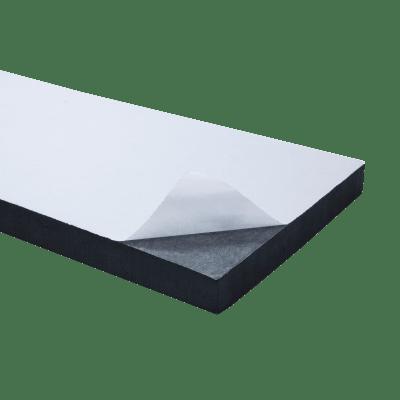 Protezione per garage in polietilene L 2 x H 50 cm nero e giallo