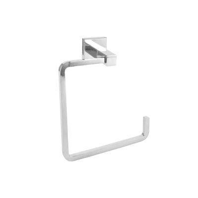 Porta salviette ad anello argento cromo lucido L 14.78 cm