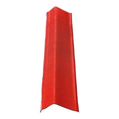 Scossalina ONDULINE in bitume L 12 x H 100 cm rosso