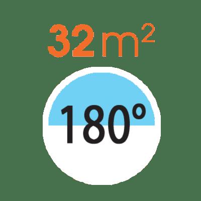 Testina per irrigatore CLABER Pop-up 180°