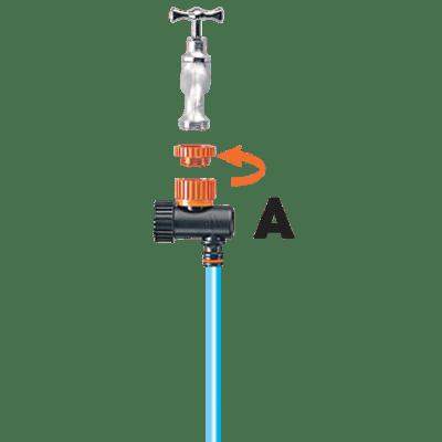 Kit di irrigazione goccia a goccia 20 punti di irrigazione CLABER