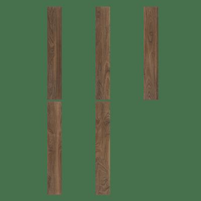 Pavimento pvc flottante clic+ Tanimbar Sp 5 mm marrone
