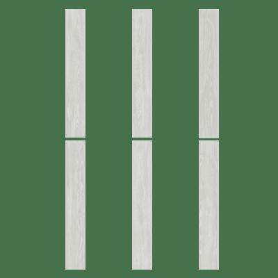 Pavimento pvc flottante clic+ Polar Sp 4 mm bianco