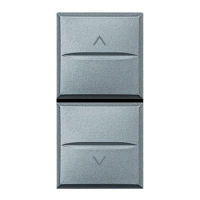 Pulsante BTICINO Axolute 10 A grigio
