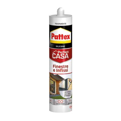 Silicone PATTEX Finestre e Infissi traslucido 290 ml