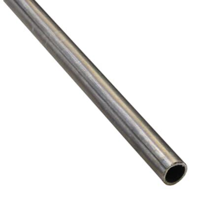 Profilo tubo tondo STANDERS in ferro 2 m x 1.6 cm Ø 16 mm grigio