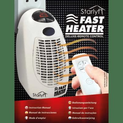 Termoventilatore elettrico Starlyf Fast Heater Delux bianco 400 W