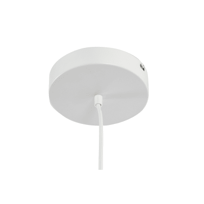 Lampadario Kuy bianco, in alluminio, diam. 40 cm, LED integrato 20W 1950LM IP20 INSPIRE