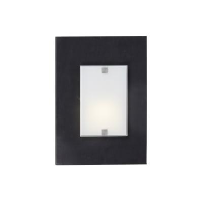 Applique industriale Ardesia bianco, in ardesia, 25x35 cm, LUMICOM
