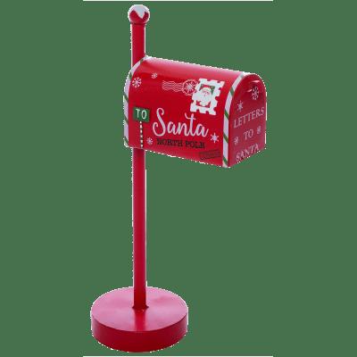Cassetta postale rosso L 23 x P 12.5 x H 43 cm