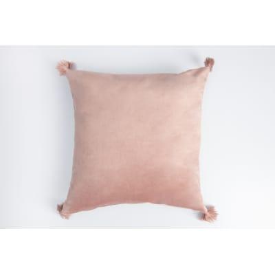 Cuscino Melisse rosa 40x40 cm Ø 53 cm