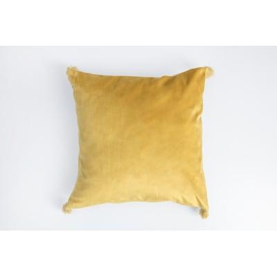 Cuscino Melisse giallo 40x40 cm Ø 53 cm