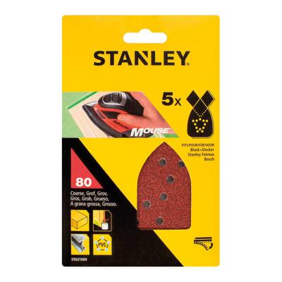 Pattino abrasivo STANLEY grana 80