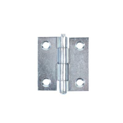 Cerniera piana 35 x 40 mm, acciaio,
