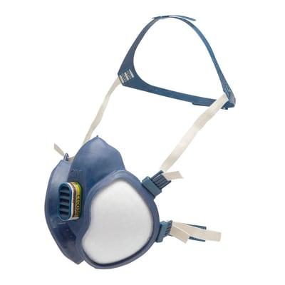 Maschera 3M FFABEK1P3 Contro il gas e i prodotti chimici