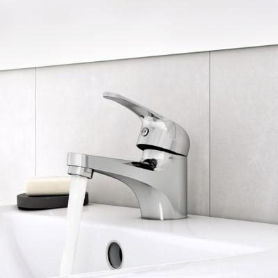 Rubinetto per doccia Essential grigio cromato SENSEA