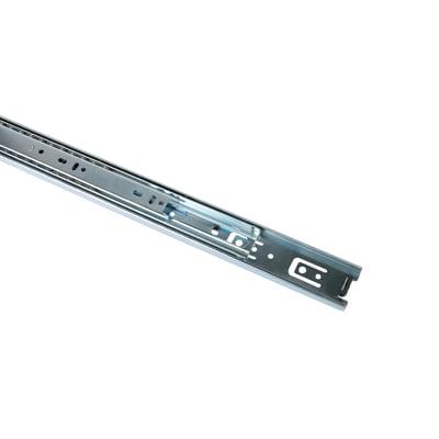Guida cassetto per tastiera in alluminio 500 x 30 mm