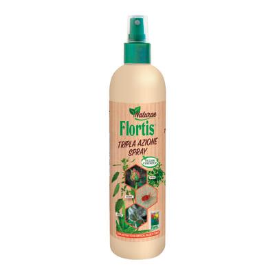 Insetticida fungicida FLORTIS naturae tripla azione sp 500 ml
