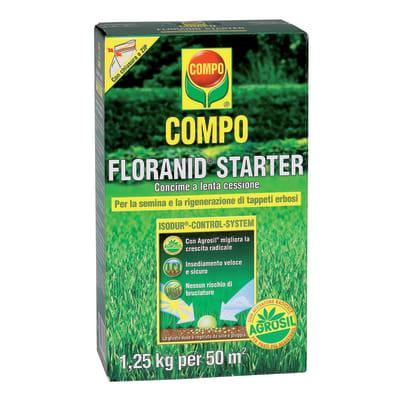 Concime per il prato granulare COMPO Floranid Starter 1,25 Kg