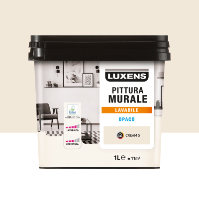 Pittura murale LUXENS 1 L beige cream 5. Prezzo online ...