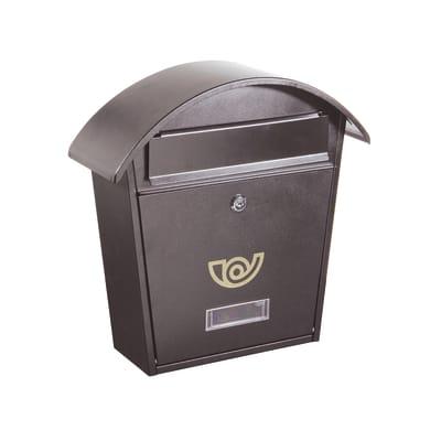 Cassetta postale formato Rivista, ghisa, L 36.5 x P 12 x H 37 cm