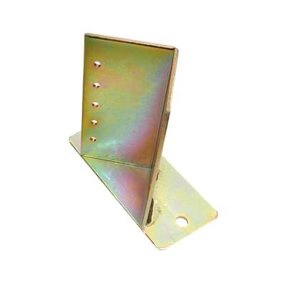 Supporto per palo Angolare in acciaio L 9