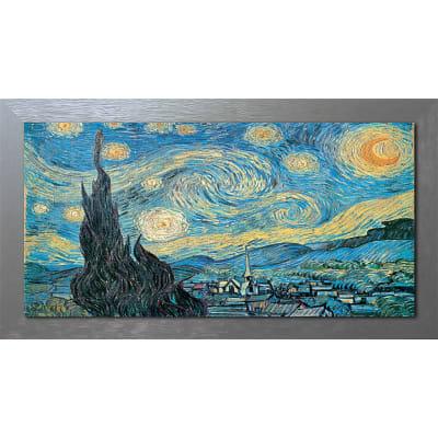 Quadro con cornice Notte 136x76 cm