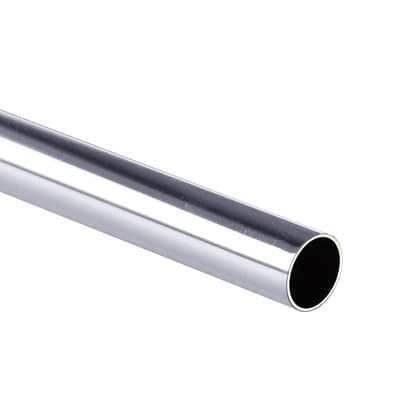 Tubo appendiabiti L 1.8 x H 1.8 x P 1.8 cm grigio / argento