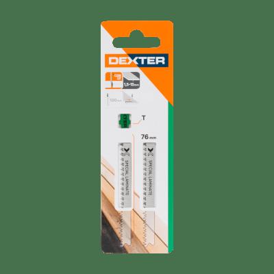 Lama per seghetto alternativo DEXTER in bimetallo L 100.0 mm 2 pezzi