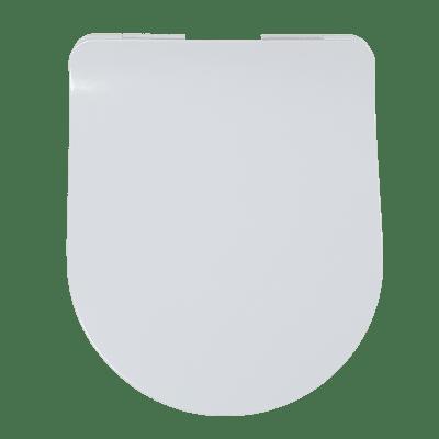 Copriwater a d Originale per serie sanitari Flo Slim termoindurente bianco
