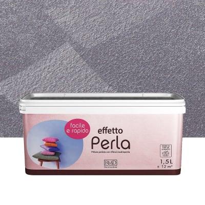Pittura ad effetto decorativo Perla 1.5 l viola ametista madreperla
