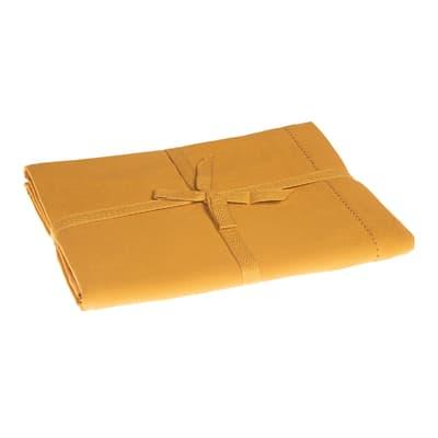 Tovaglia Greta color giallo curcuma 140x180 cm