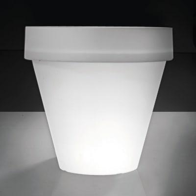 Vaso My Mood in plastica colore bianco Ø 70 cm